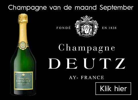 Champagne van de maand September